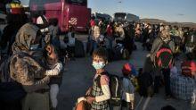Weitere gut 100 Flüchtlinge von griechischen Inseln in Deutschland eingetroffen