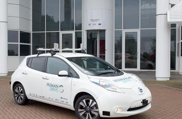 UK group planning complex 200-mile autonomous car trial