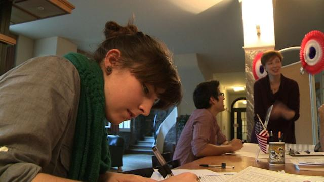 From France, Americans prepare to cast their votes