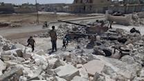 Syrian military targets residential area in attack