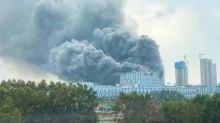 Cina, fiamme in un edificio dell'azienda Huawei