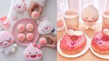 【日本】粉紅色系飲品+食物!令人少女心爆發的東京「Apeach Cafe」