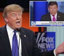 A Fox News host hit back at Trump's claims that the network has 'changed' after it published a poll showing him losing head-to-head matchups with leading Democrats