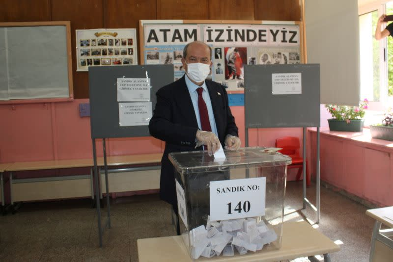 PM Tatar wins North Cyprus presidential vote, says people want own state