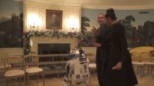 Watch the Obamas Throw a 'Star Wars' Dance Party (Video)
