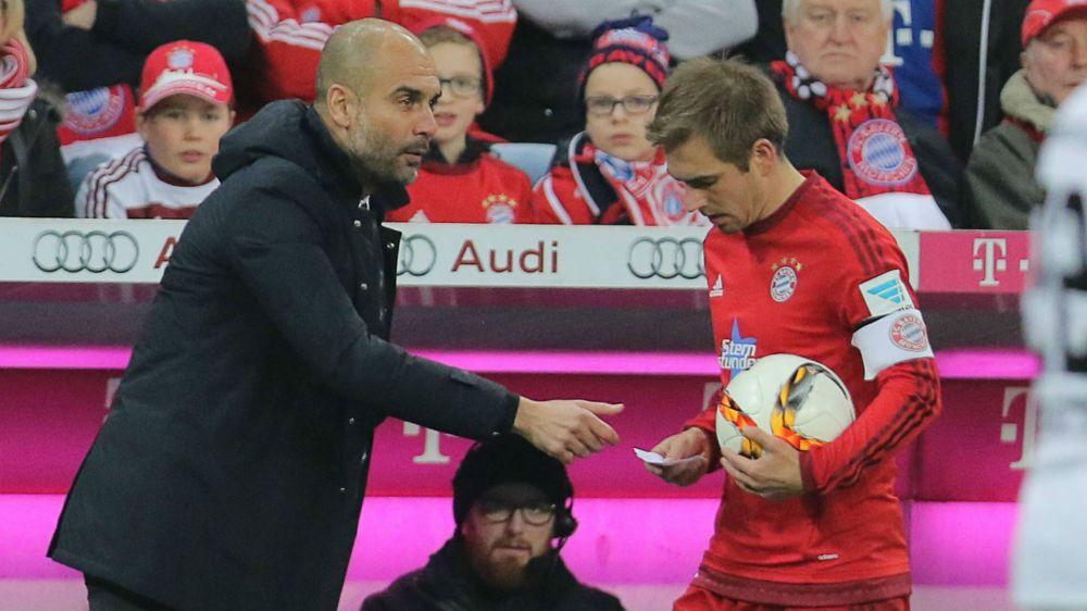"""Lahm über Guardiola: """"Er musste dafür später den Kopf hinhalten"""