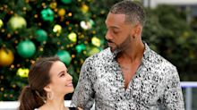 Richard Blackwood has already formed strong bond with Dancing On Ice partner