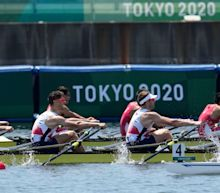 Silver in quadruple sculls brightens up difficult day for Team GB's rowers