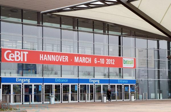 We're live from CeBIT 2012 in Hannover, Germany!