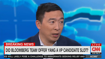 Yang: 'Multiple campaigns' seeking his support