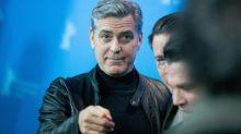 George Clooneys lustige Grimassen bei der Berlinale