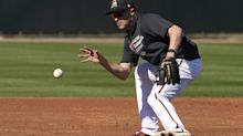 Nick Ahmed getting his defense up to speed at Diamondbacks camp