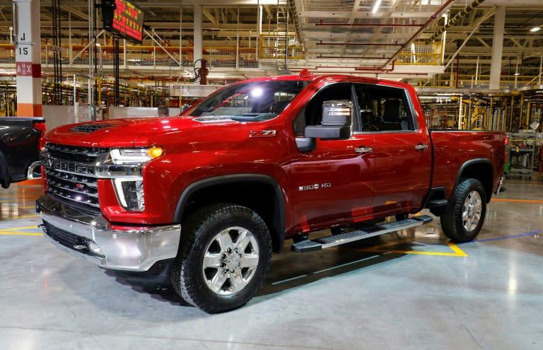 GM rides US love for trucks, SUVs to blowout 3Q profits