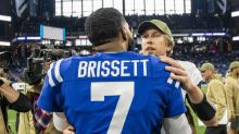 Jacoby Brissett said he fought back tears in return to field for Colts