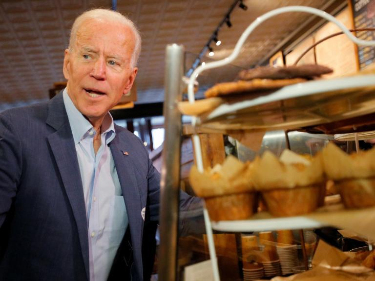A new poll has some good news for Joe Biden that sets him apart from the 2020 Democratic field yet again: He's the only candidate who leads Donald Trump in a hypothetical match-up outside the margin of error.Mr Biden, who leads the Democratic field in virtually every poll by 10 or more points, has solidified his position as the front-runner to take on Mr Trump, and it appears he could easily take on the president in 2020, according to the new poll from Fox News.According to that poll, Mr Biden leads Mr Trump in a hypothetical match up among registered voters by 11 points, receiving 49 per cent of the vote compared to 38 per cent for Mr Trump.Of course, other candidates fare well against Mr Trump as well, just not at that level.Bernie Sanders, for instance, leads Mr Trump by 5 points, while Elizabeth Warren leads by 2 points. Kamala Harris ties with Mr Trump, and Pete Buttigieg finds himself just one point behind.In the match ups between Democrats, Mr Biden leads the way with 39 per cent support, while 17 per cent goes to Mr Sanders, 9 per cent goes to Ms Warren, 6 per cent to Mr Buttigieg, and 5 per cent to Ms Harris. In addition, Beto O'Rourke attracted 4 per cent support, and Cory Booker got 3 per cent.The Fox news poll was conducted between 11 May and 14 May, and the survey contacted 1,008 registered American voters by home. The margin of error was 3 per cent.