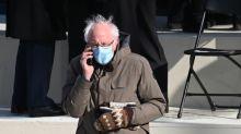 The inside story of Bernie Sanders' 'grumpy chic' inauguration mittens