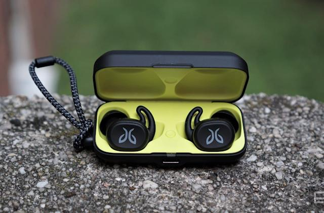 Jaybird's Vista are a sleeker pair of wireless exercise earbuds