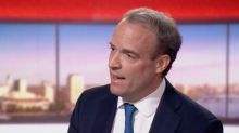 Coronavirus news: UK has reached 200,000 daily testing target, government claims after Raab admits he did not know Cummings was self-isolating in Durham when he acted PM