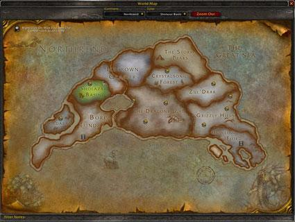 The Northrend map forgery