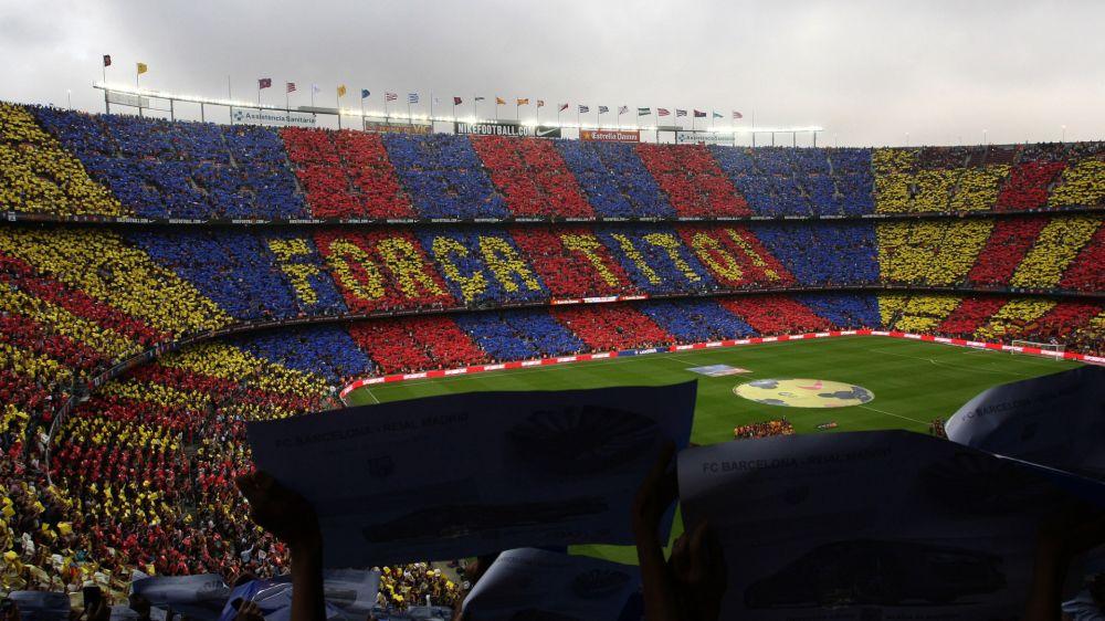 Barcelona prepara mosaico gigantesco para duelo contra o PSG