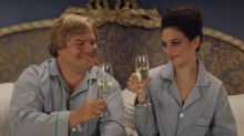 The trailer for Jenny Slate and Jack Black's new Netflix movie is here, and it's ridiculously absurd in a good way