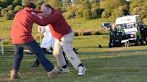 The World Shin Kicking Championships!