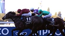 Roaring Lion ends career with gutsy QEII victory at Ascot