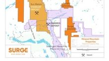 Surge Congratulates, Sun Metals Corp., on a Successful Drill Program Near Surge's Mineral Mountain Claims in North Central BC