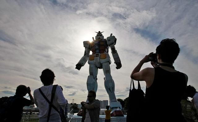 'Gundam' is being made into a live-action movie