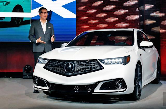 With its 2018 TLX, Acura learns the value of good software design