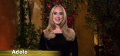 """I'm here because I've had a lot of heartbreak in my life,"" Adele says in her role as a ""Bachelor"" contestant in a ""Saturday Night Live"" parody. )NBC)"