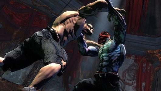 New Splatterhouse screens are relatively clean
