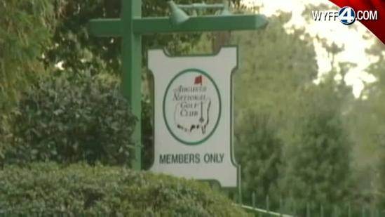 Women react to Augusta National changes