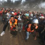 Israeli forces wound 130 Palestinians at Gaza border protest