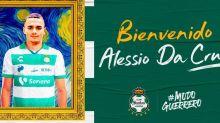 Al estilo Van Gogh: la recepción del Santos a Alessio da Cruz