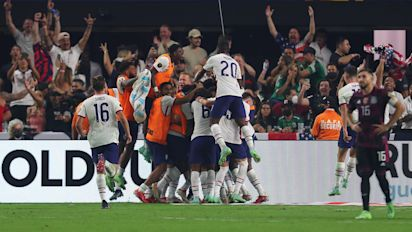 USMNT shocks rival Mexico in Gold Cup final