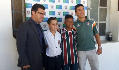 Jogador do Fluminense representará o Brasil em torneio na Rússia