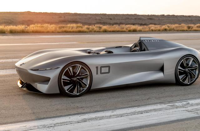 Infiniti taunts us with another electric race car we can't buy