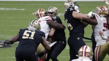 Kentavius Street not fined for hit on Drew Brees, Jimmie Ward fined for hit on WR