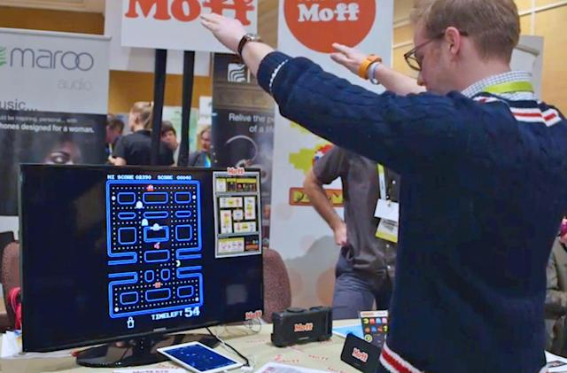 With a kids' wearable, I became a human 'Pac-man'