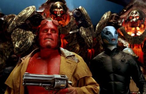 Ron Perlman and Doug Jones in 2008's 'Hellboy II: The Golden Army'