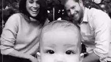 Archie's First Christmas! Meghan Markle & Prince Harry Release Holiday Card Starring 7-Month-Old Son