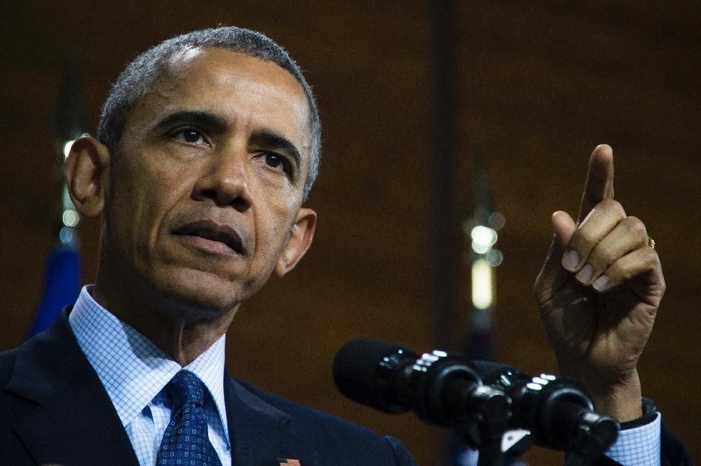 """US President Barack Obama warned that North Korea is gaining """"knowledge"""" with every nuclear test, despite the failures (AFP Photo/Jim Watson)"""