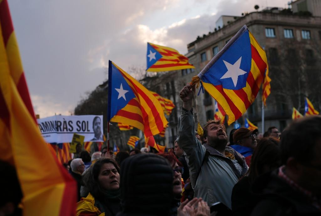 Separatists won an absolute majority of parliamentary seats in December but have so far failed to form a new government (AFP Photo/Pau Barrena)