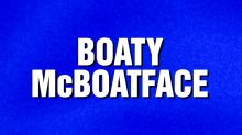 'Jeopardy!' fans go nuts over 'Boaty McBoatface' category