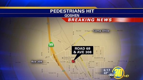 6 injured as car hits religious procession in Goshen