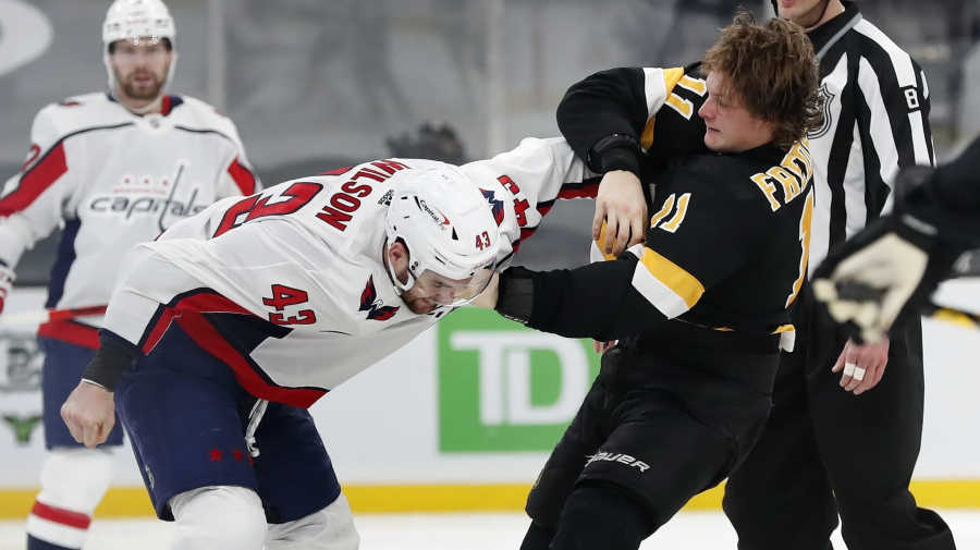 Tom Wilson under fire after another high hit
