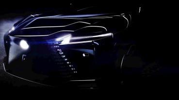 LEXUS最新電動概念車趕進度預計2021年第一季發表,首波預告圖釋出
