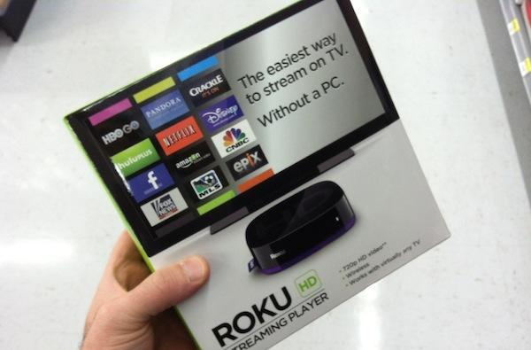 Refreshed Roku HD spotted in stores, drops the 2 but adds some purple flair