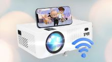 Turn any wall into a big-screen theater with this projector, on sale for just $90 at Amazon
